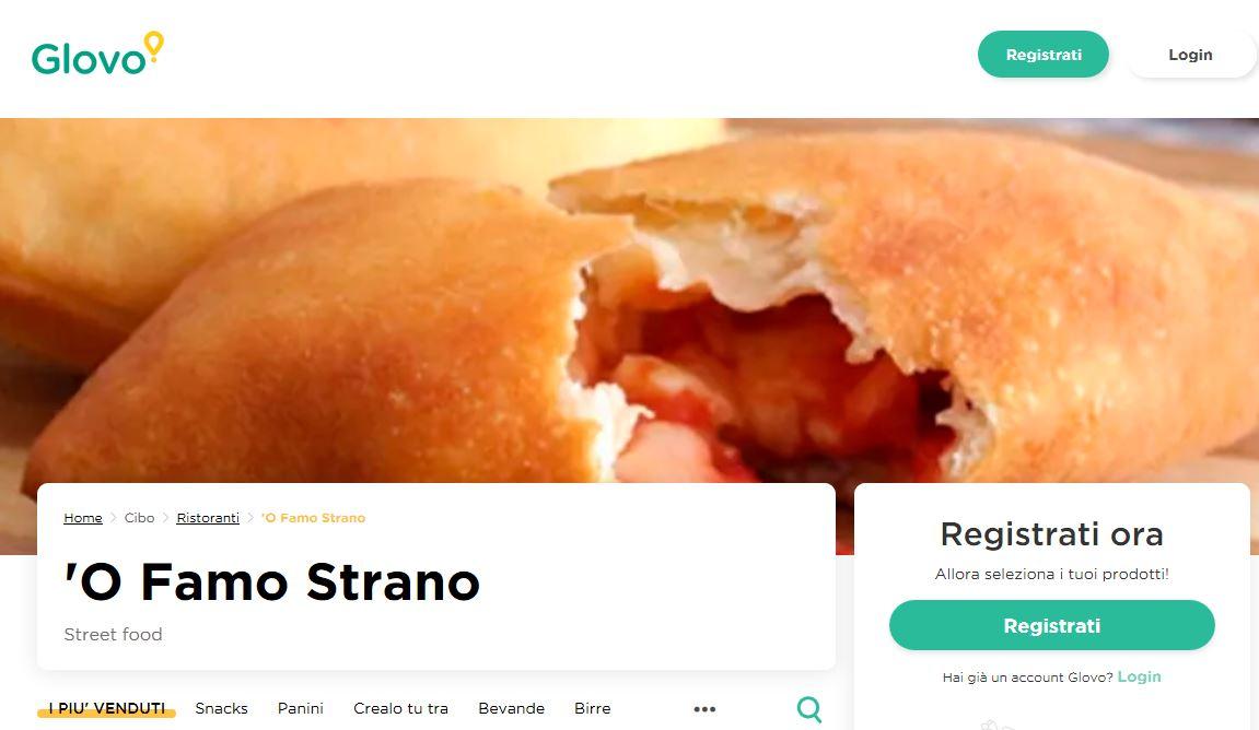 famo strano food hungry