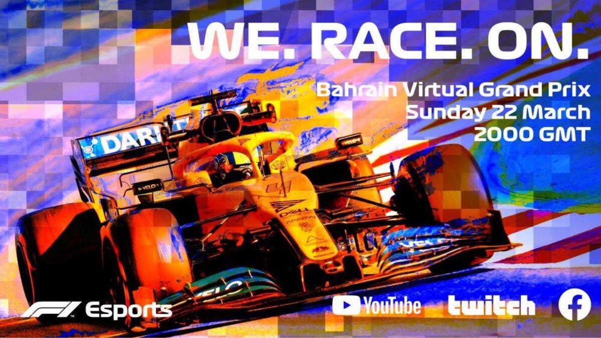 Anche la Formula Uno #restaacasa... ma si corre lo stesso thumbnail