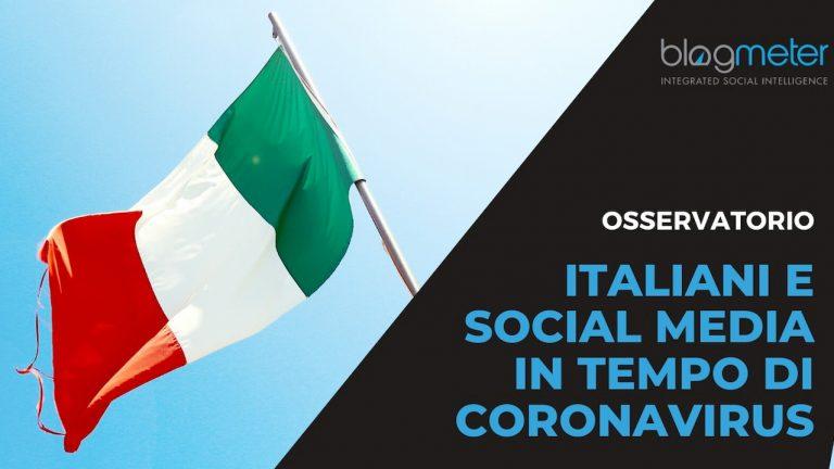 italiani social media coronavirus blogmeter