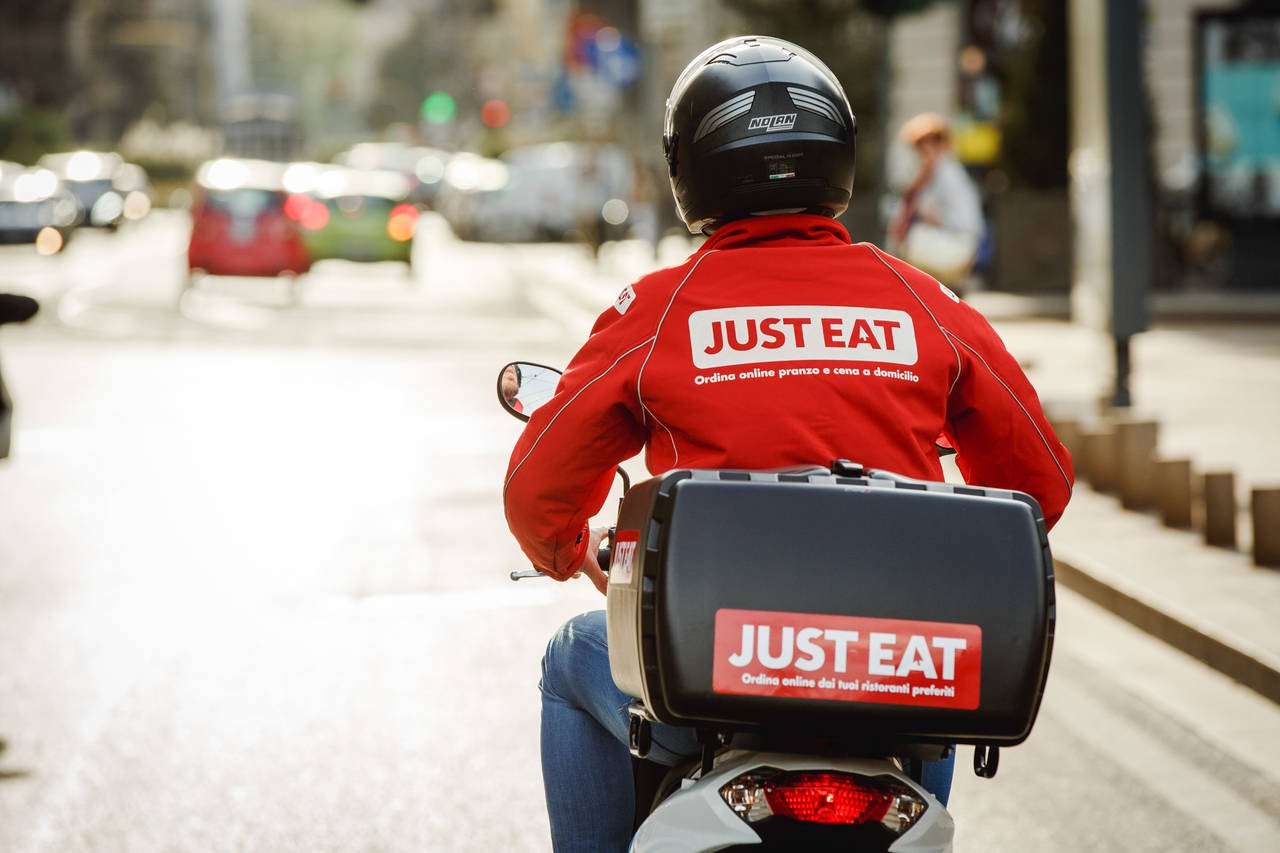 just eat food delivery