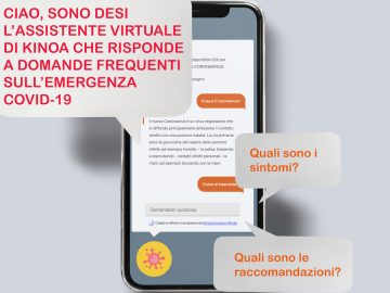kinoa desi chatbot aggiornamenti coronavirus