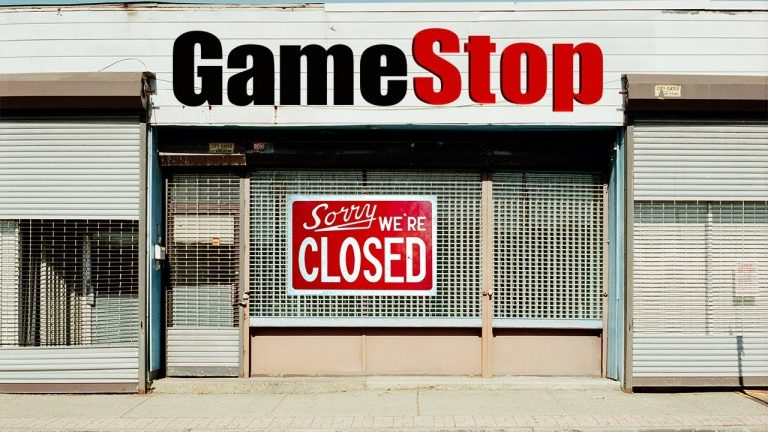 gamestop chiude consegna