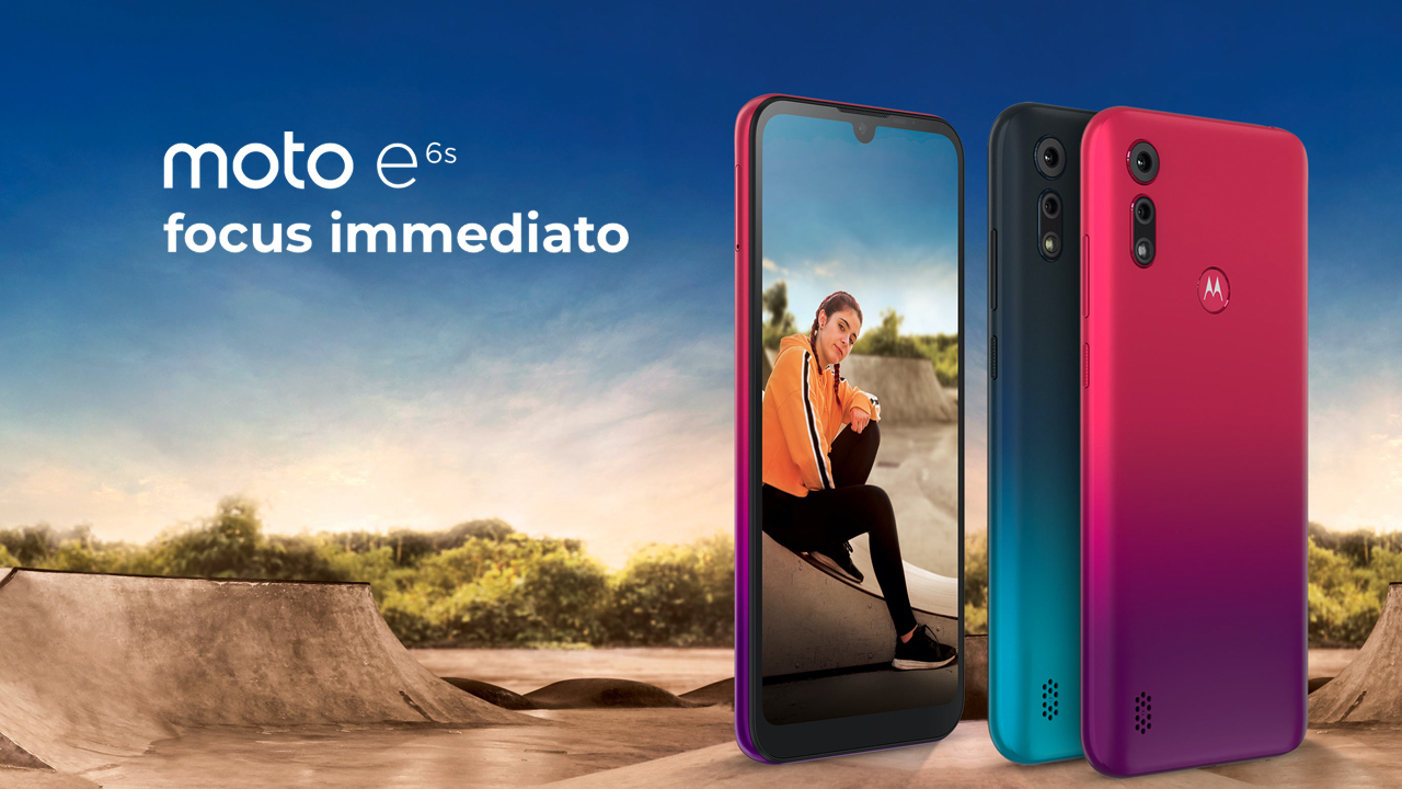 Motorola Moto e6s, prezzo base con specifiche top thumbnail
