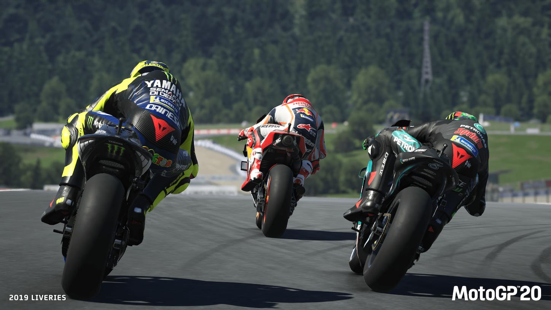MotoGP 20 appare in un primo succulento video gameplay thumbnail
