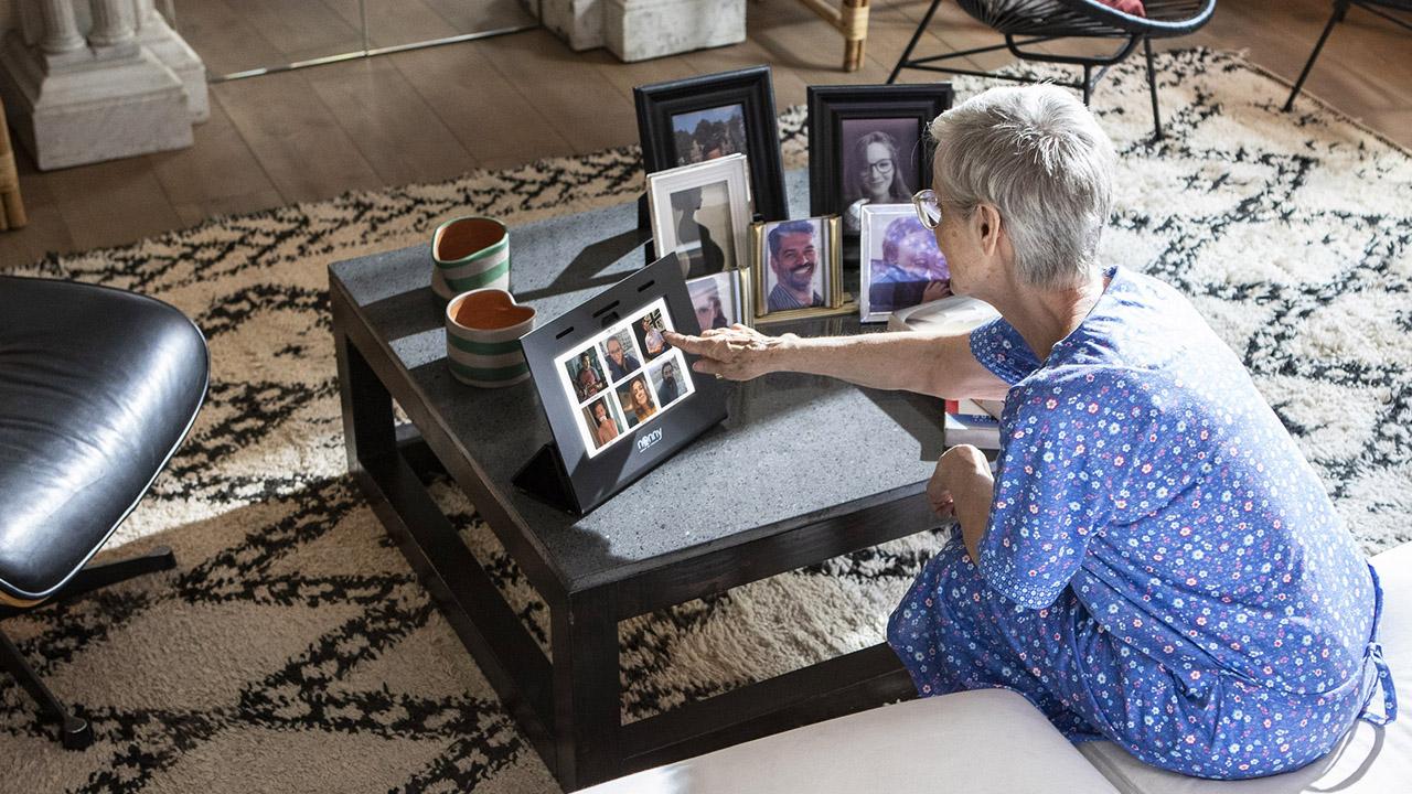 Abbattete le distanze tra Nonny e nipoti con un tocco thumbnail