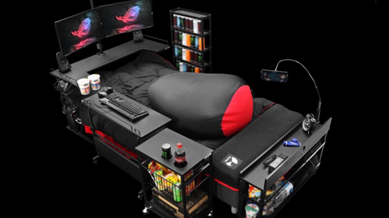La nuova frontiera del gaming? Il letto thumbnail