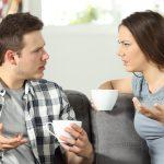 quarantena in famiglia fare pace coppia litigare