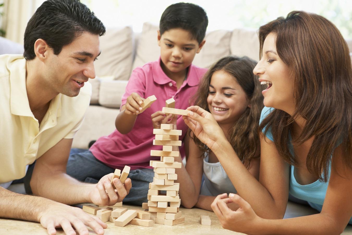 quarantena in famiglia figli gioco