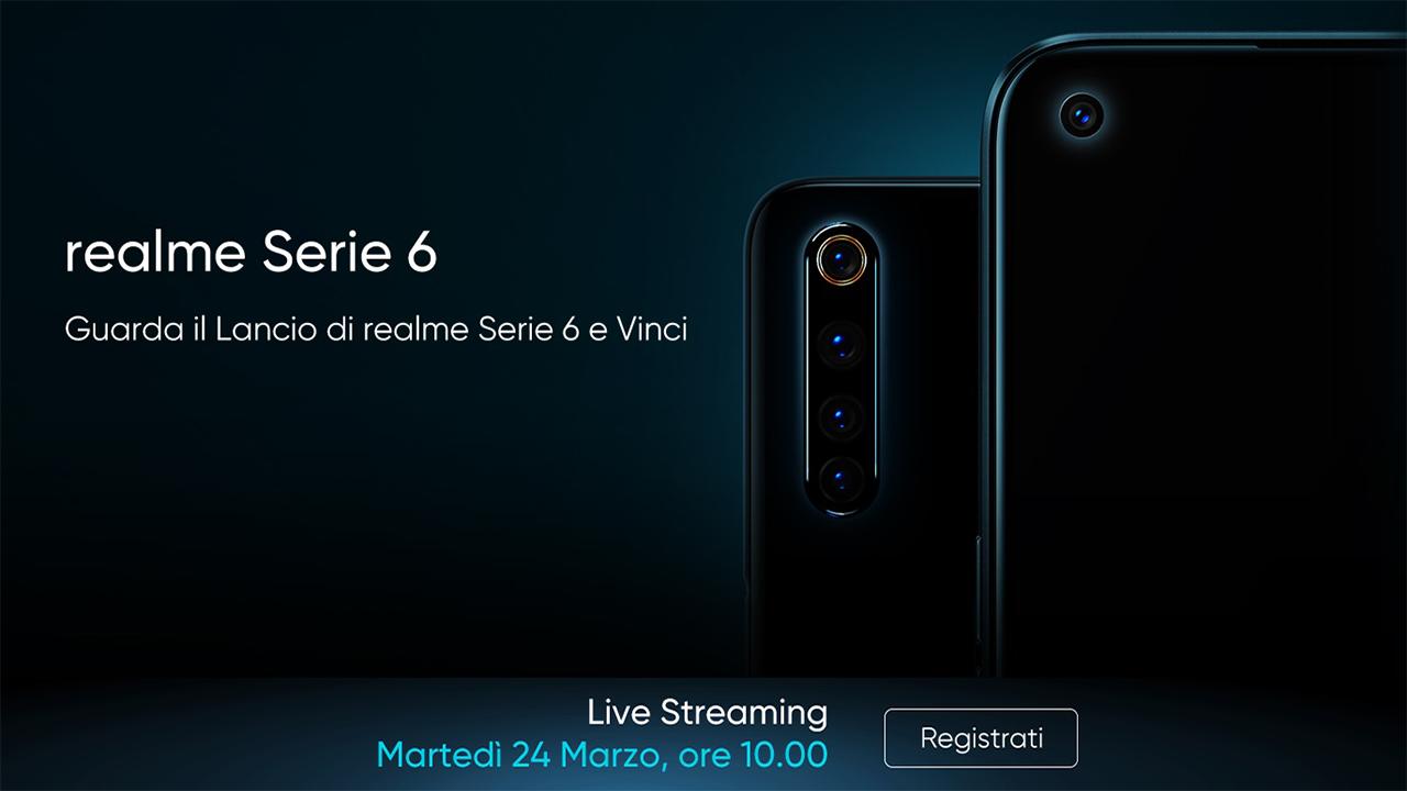L'evento di lancio di Realme Serie 6 è stato posticipato thumbnail