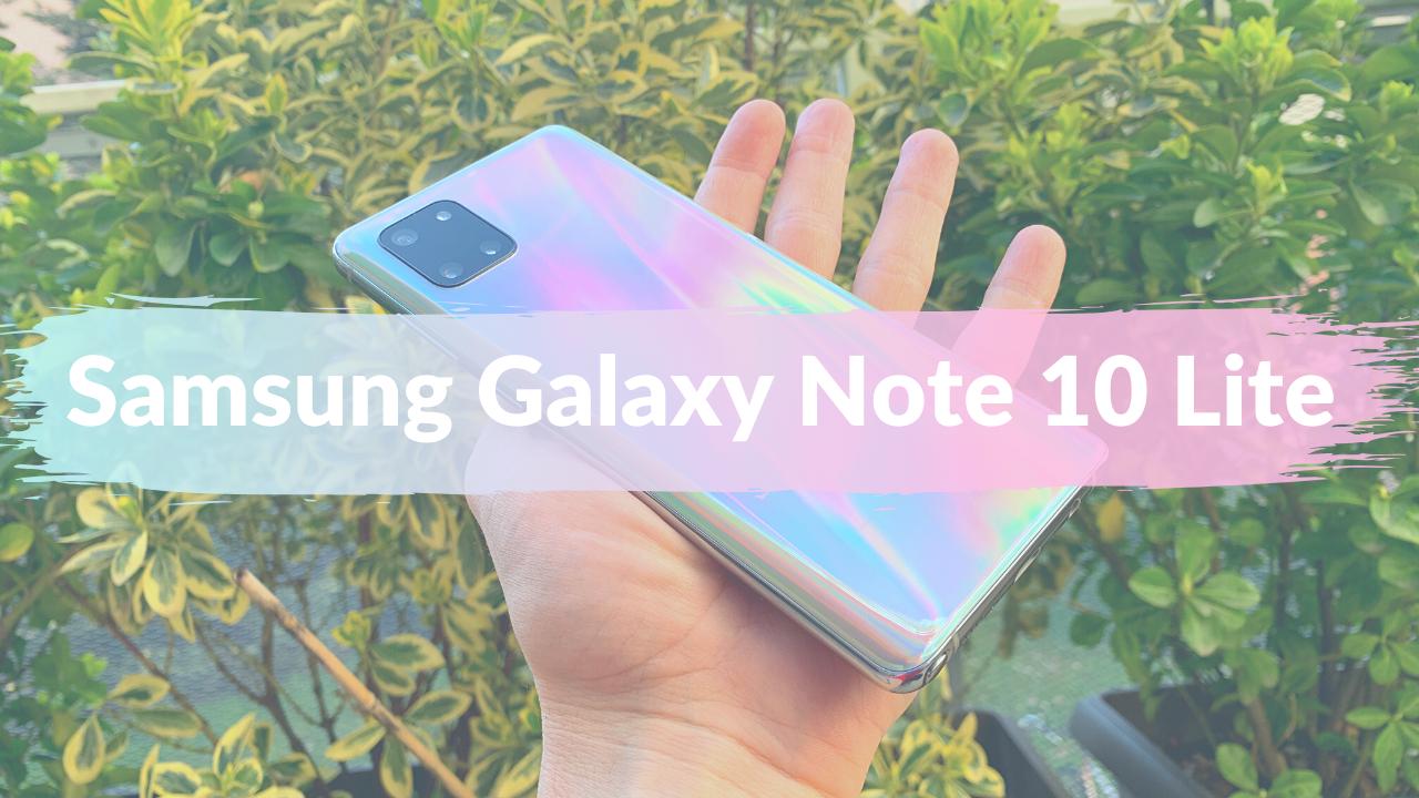 Samsung Galaxy Note 10 Lite recensione: la mia prima volta col pennino thumbnail
