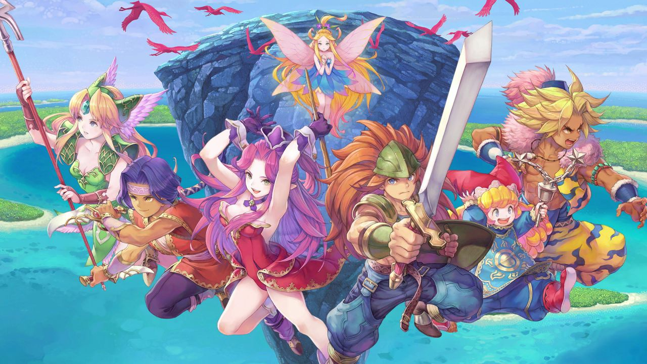 La versione demo di Trials of Mana è ora disponibile thumbnail