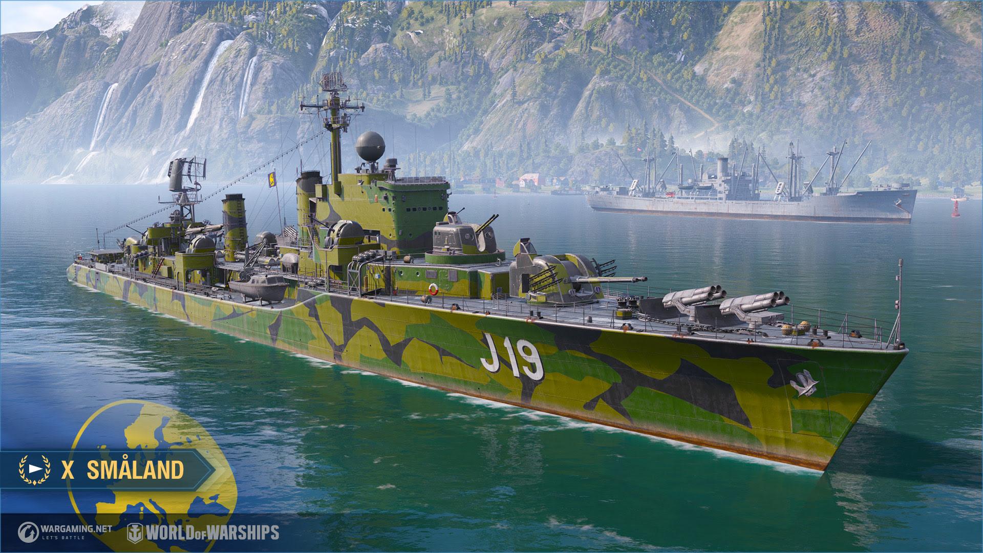 World of Warships schiera i cacciatorpedinieri della marina svedese thumbnail
