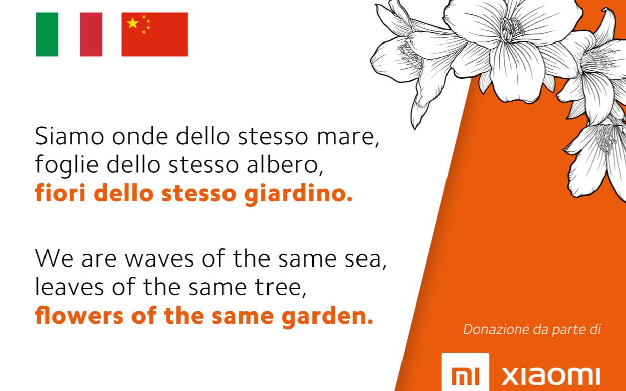 Xiaomi ancora in soccorso dell'Italia thumbnail