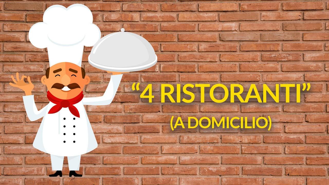 4 ristoranti (a domicilio) thumbnail