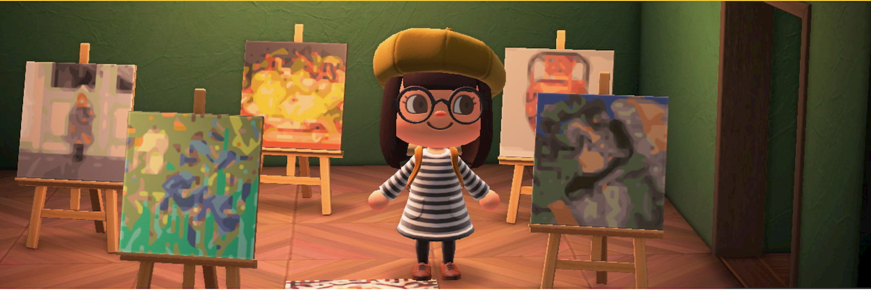 Il museo Getty porta l'arte in Animal Crossing New Horizons thumbnail
