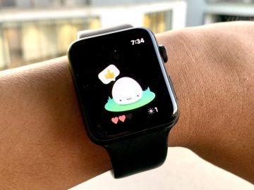 Apple Watch Tamagotchi Nomi
