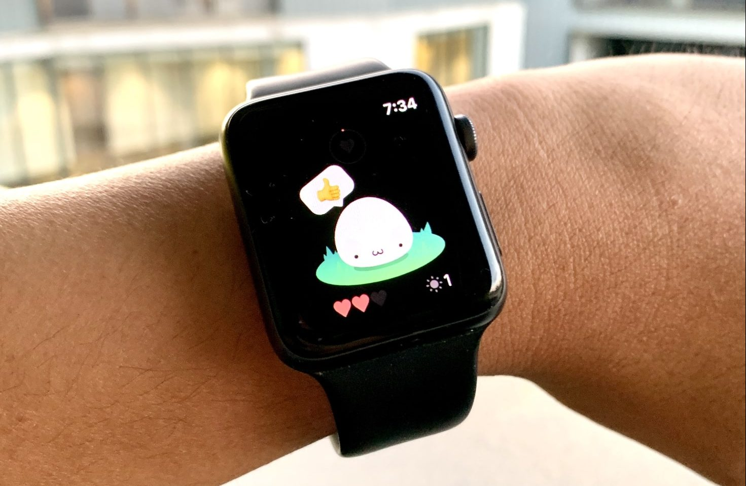 Apple Watch come il Tamagotchi grazie ad un'app thumbnail