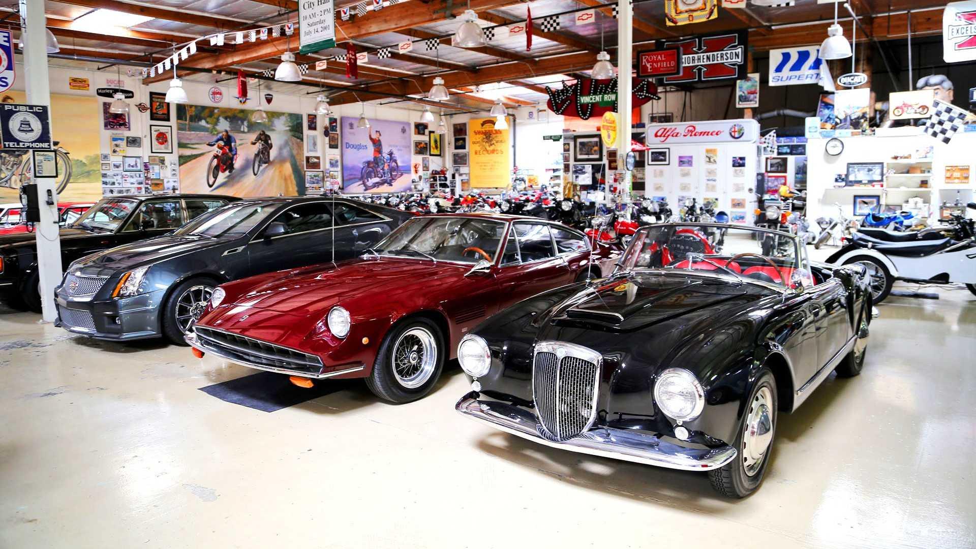 Auto ferma Jay Leno's garage