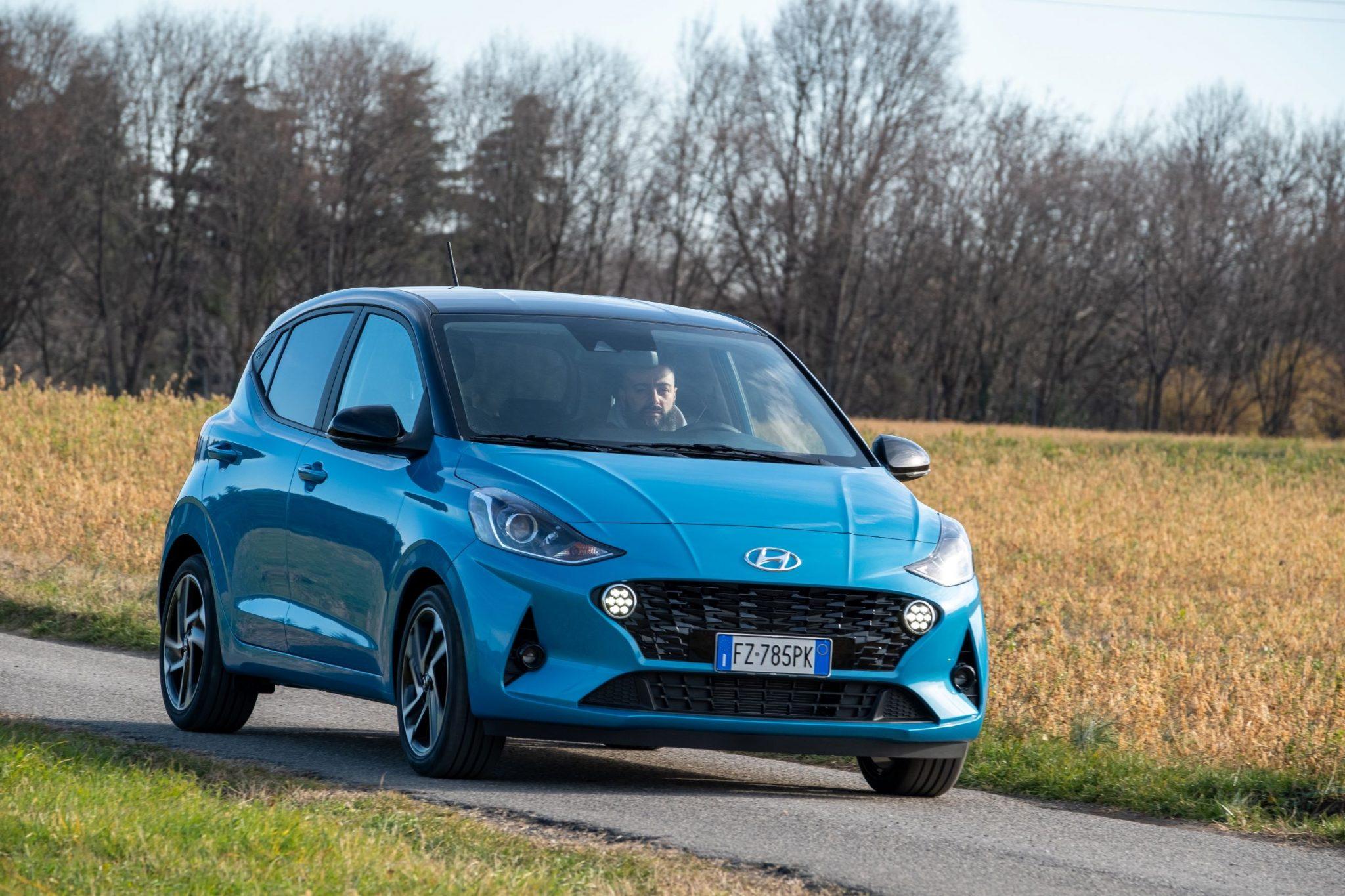 Auto più lente Hyundai i10