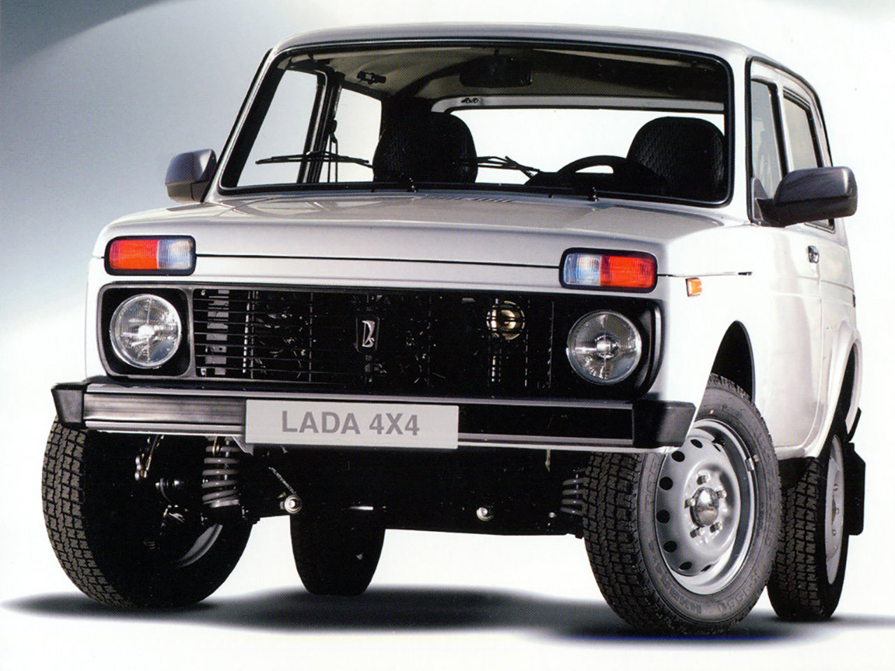 Auto più lente Lada Niva