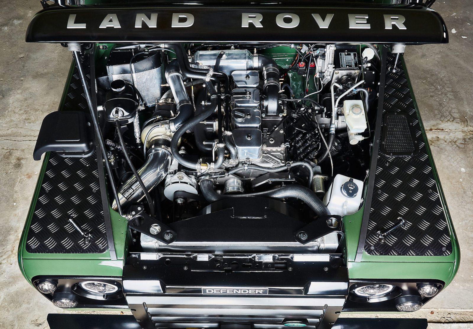 Auto più lente Land Rover Defender