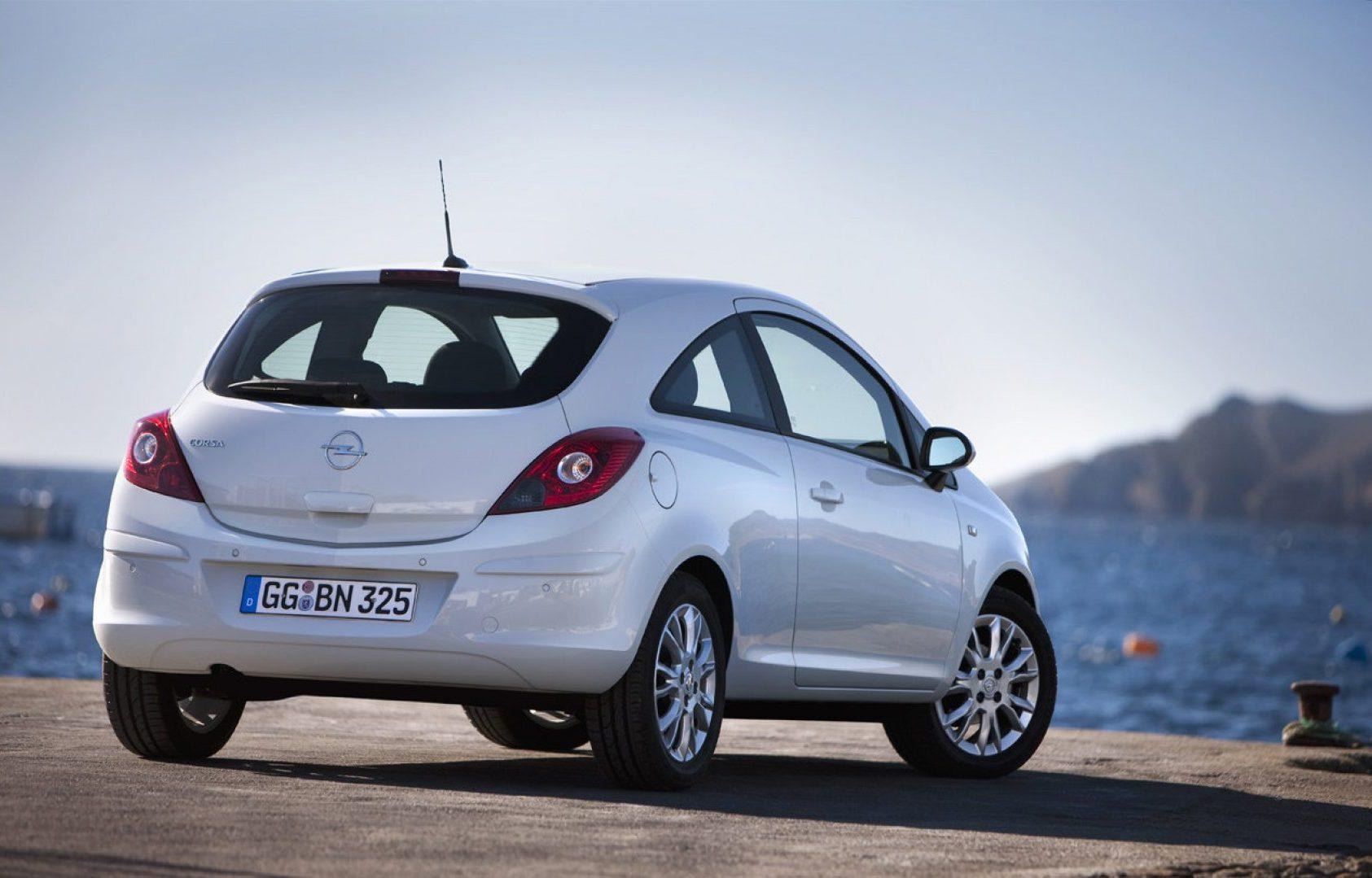 Auto più lente Opel Corsa 1.0