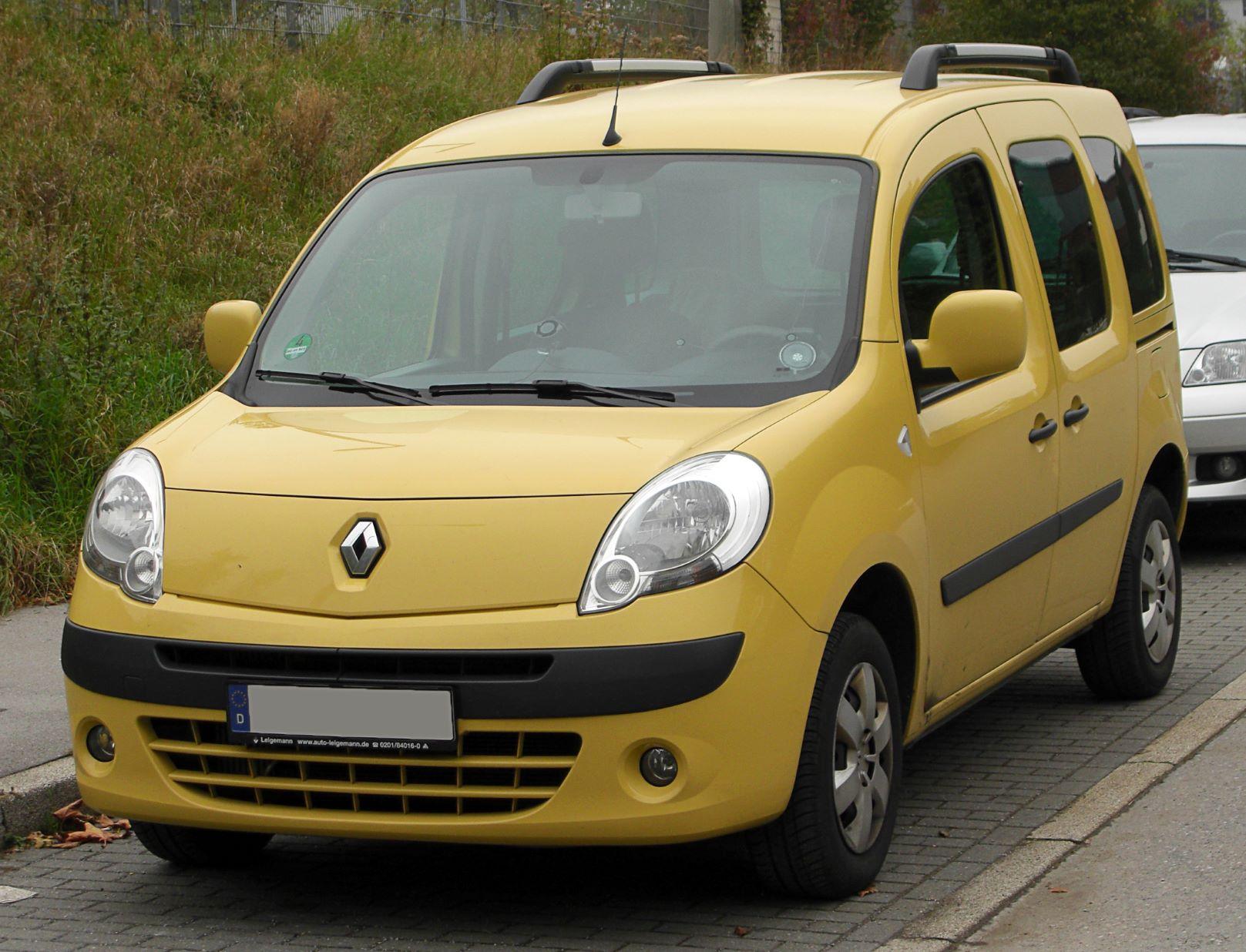 Auto più lente Renault Kangoo 1