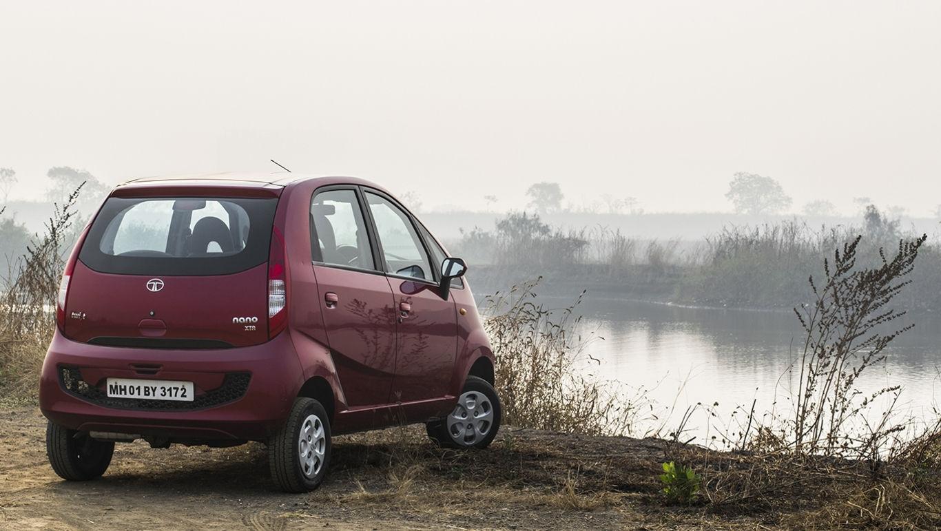 Auto più lente Tata Nano