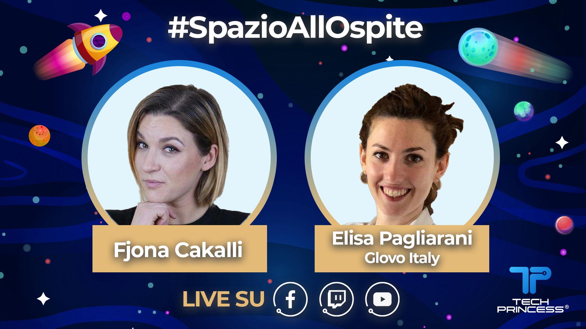 Elisa Pagliarani, Glovo: intervista in diretta giovedì 23 Aprile ore 18.00 | #SpazioAllOspite thumbnail