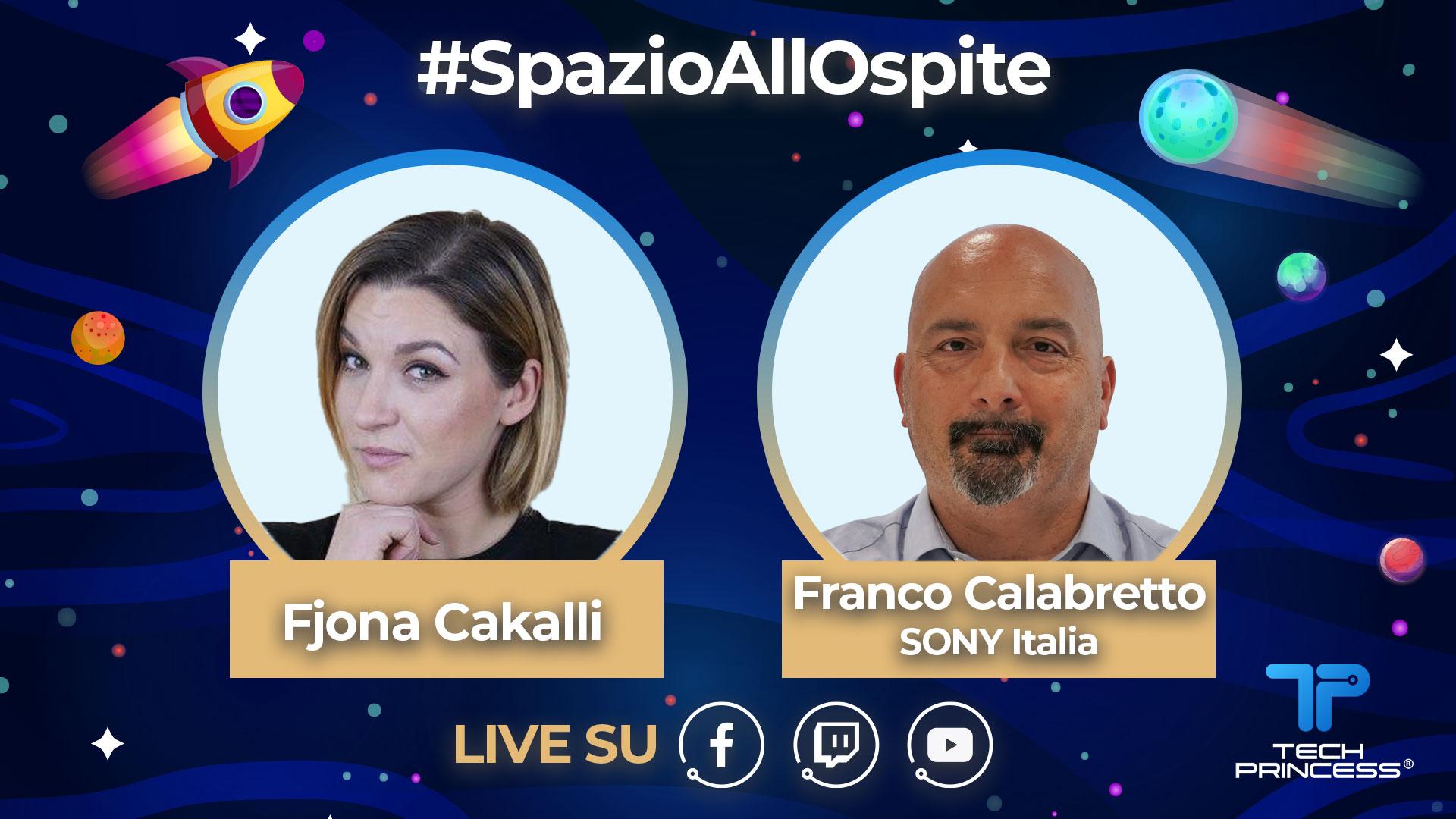 Franco Calabretto, SONY: intervista in diretta martedì 21 Aprile ore 18.00 | #SpazioAllOspite thumbnail