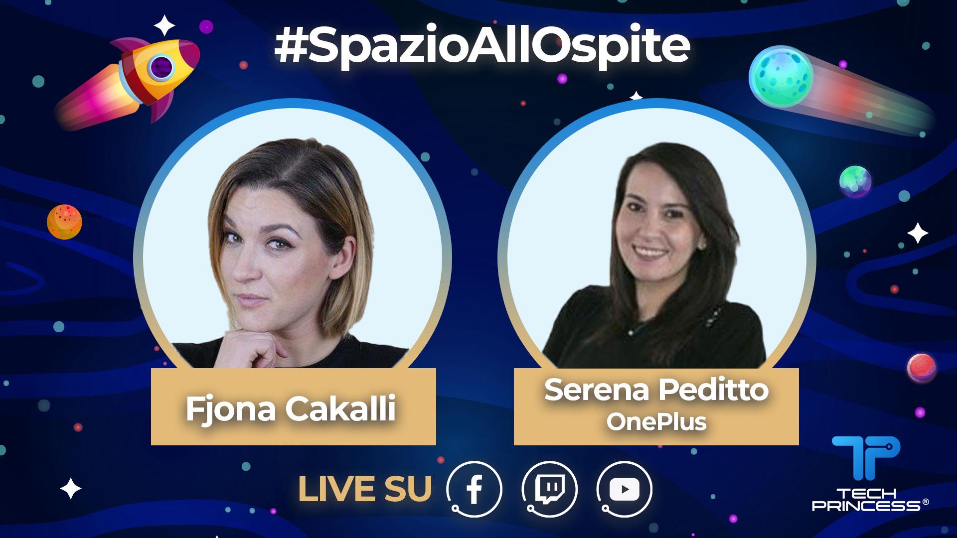 OnePlus 8: commento live della conferenza con Serena Peditto | #SpazioAllOspite thumbnail