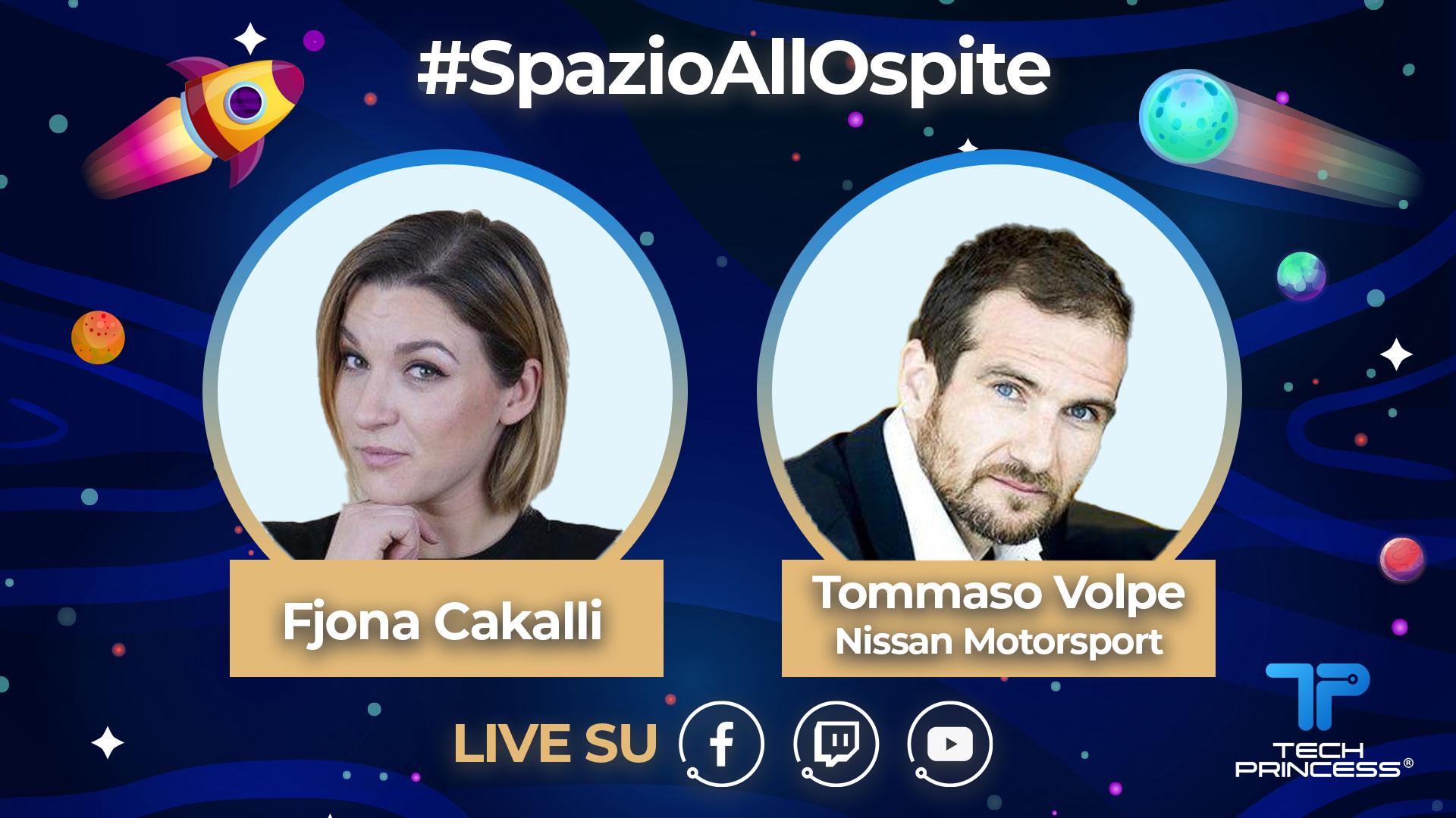 Tommaso Volpe, direttore Nissan Motorsport: intervista in diretta sabato 18 Aprile ore 15.00 | #SpazioAllOspite thumbnail
