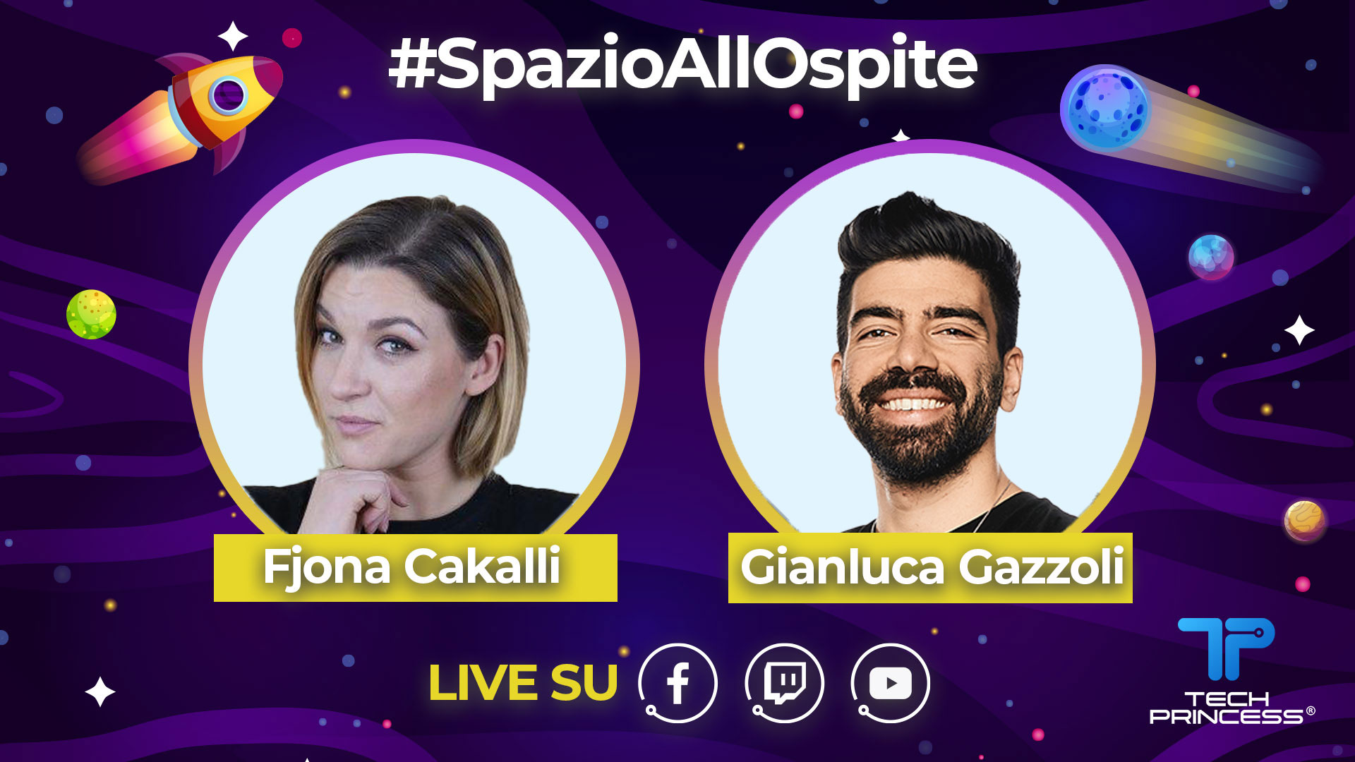 Gianluca Gazzoli: intervista in diretta mercoledì 22 Aprile ore 18.00 | #SpazioAllOspite thumbnail