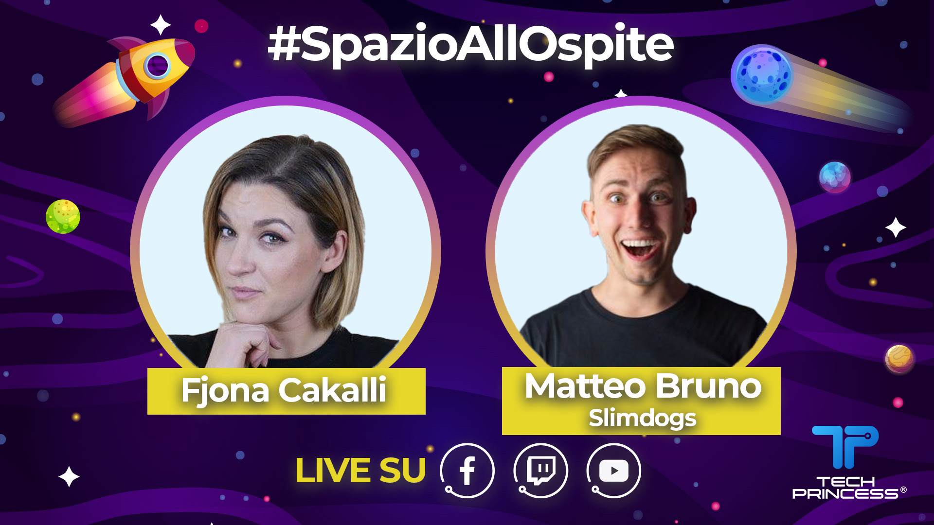 Cane Secco e Slim Dogs: intervista live e Q&A venerdì 17 aprile ore 18.00 | #SpazioAllOspite thumbnail