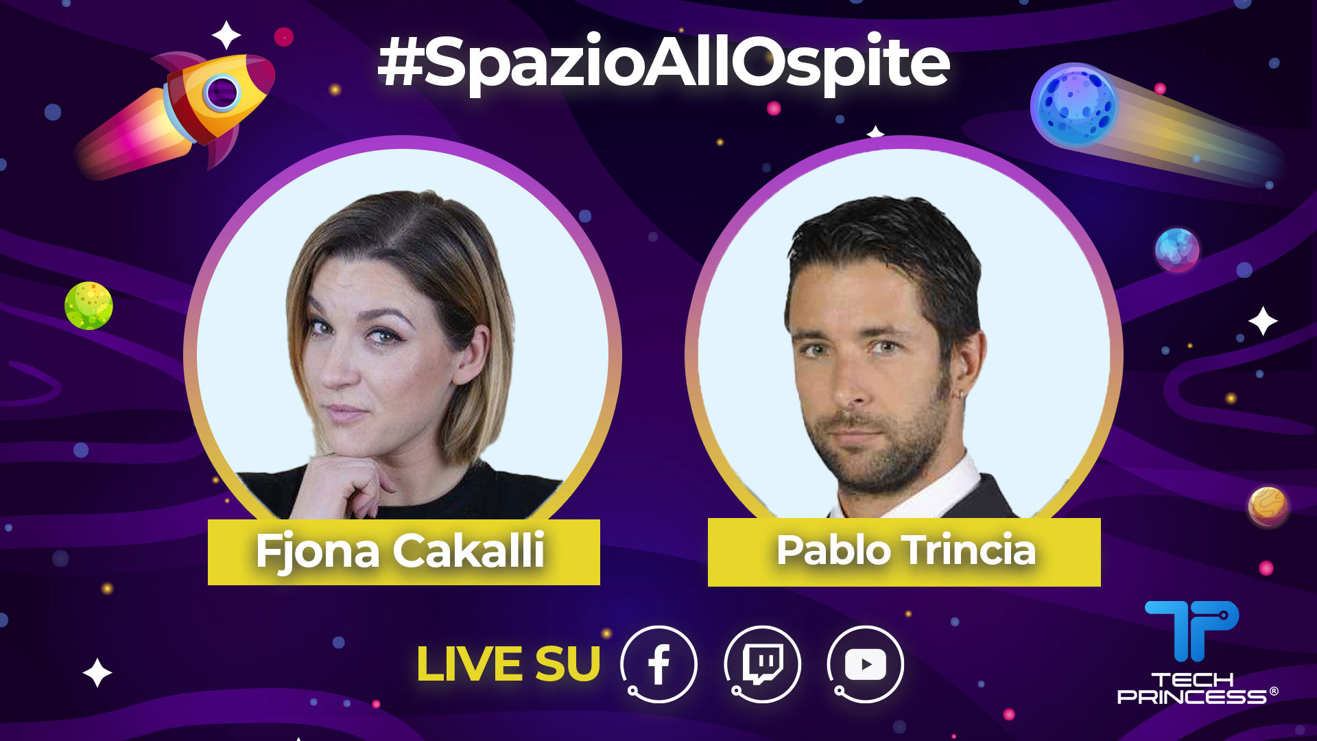 Pablo Trincia: intervista in diretta venerdì 1 maggio ore 18.00 | #SpazioAllOspite thumbnail