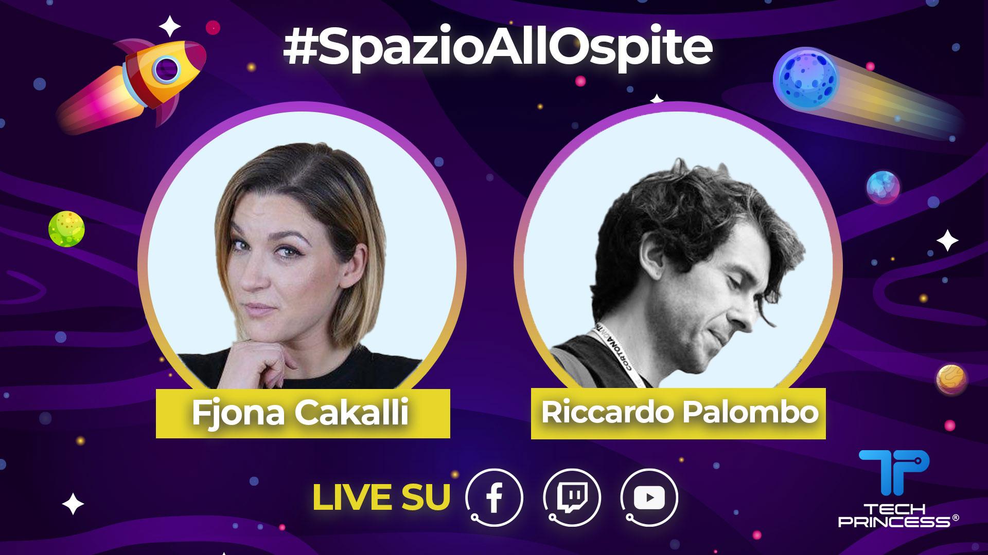 Riccardo Palombo: intervista in diretta venerdì 24 Aprile ore 18.00 | #SpazioAllOspite thumbnail