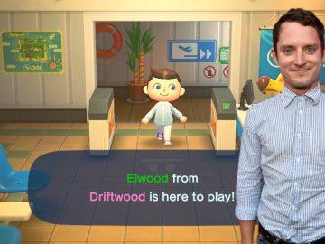 Elijah Wood Animal Crossing New Horizons copertina