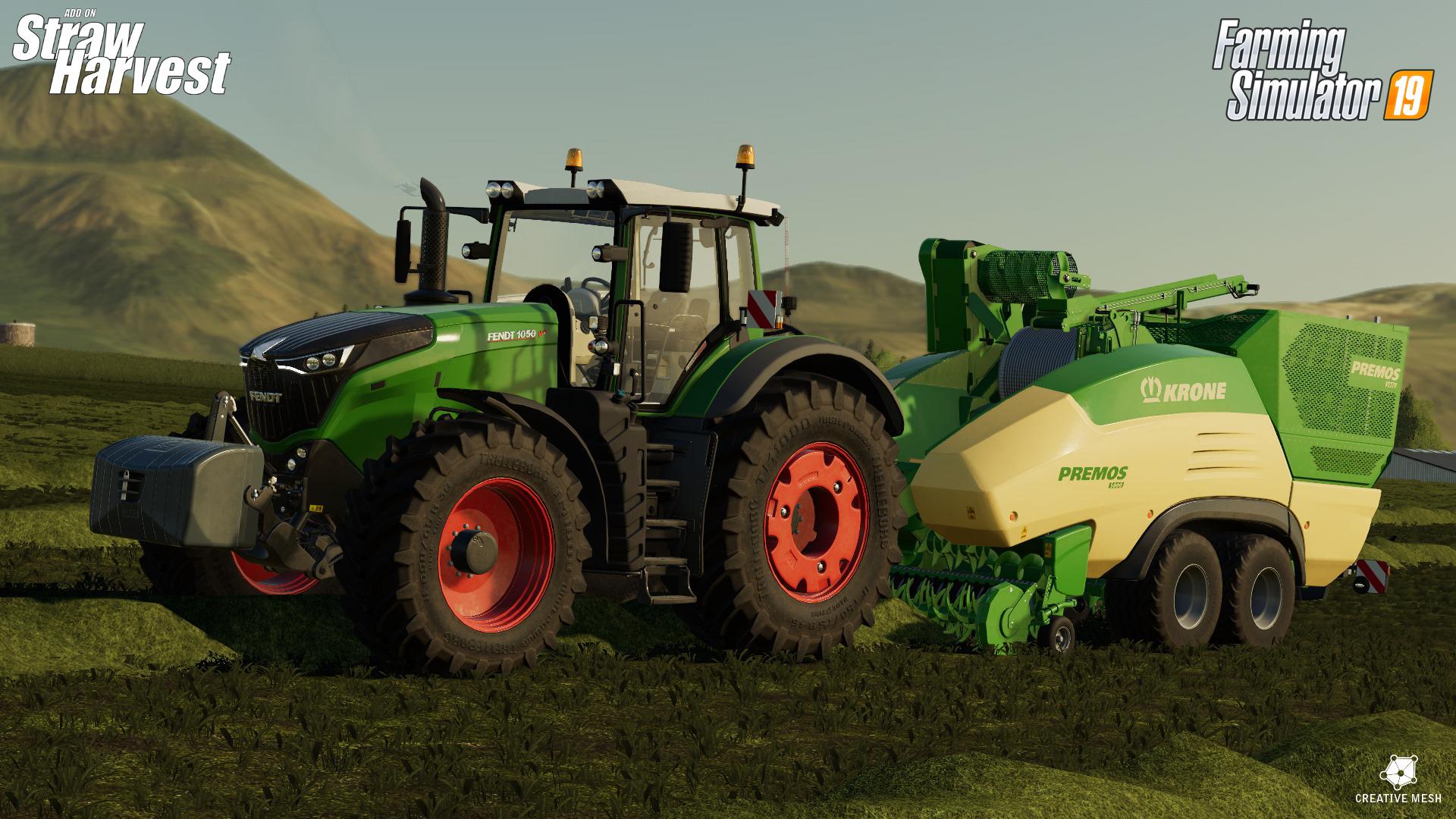 Farming Simulator 19 si espande ancora con Straw Harvest thumbnail