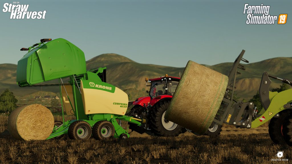 Faming simulator 19 Straw Harvest