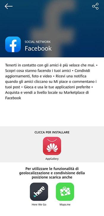 smartphone Huawei senza Google Apps