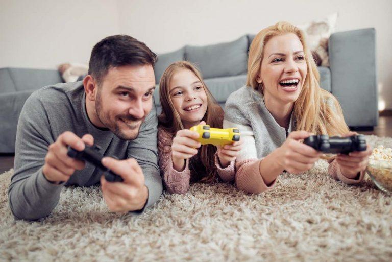Family-Playing-IIDEA-Tech-Princess