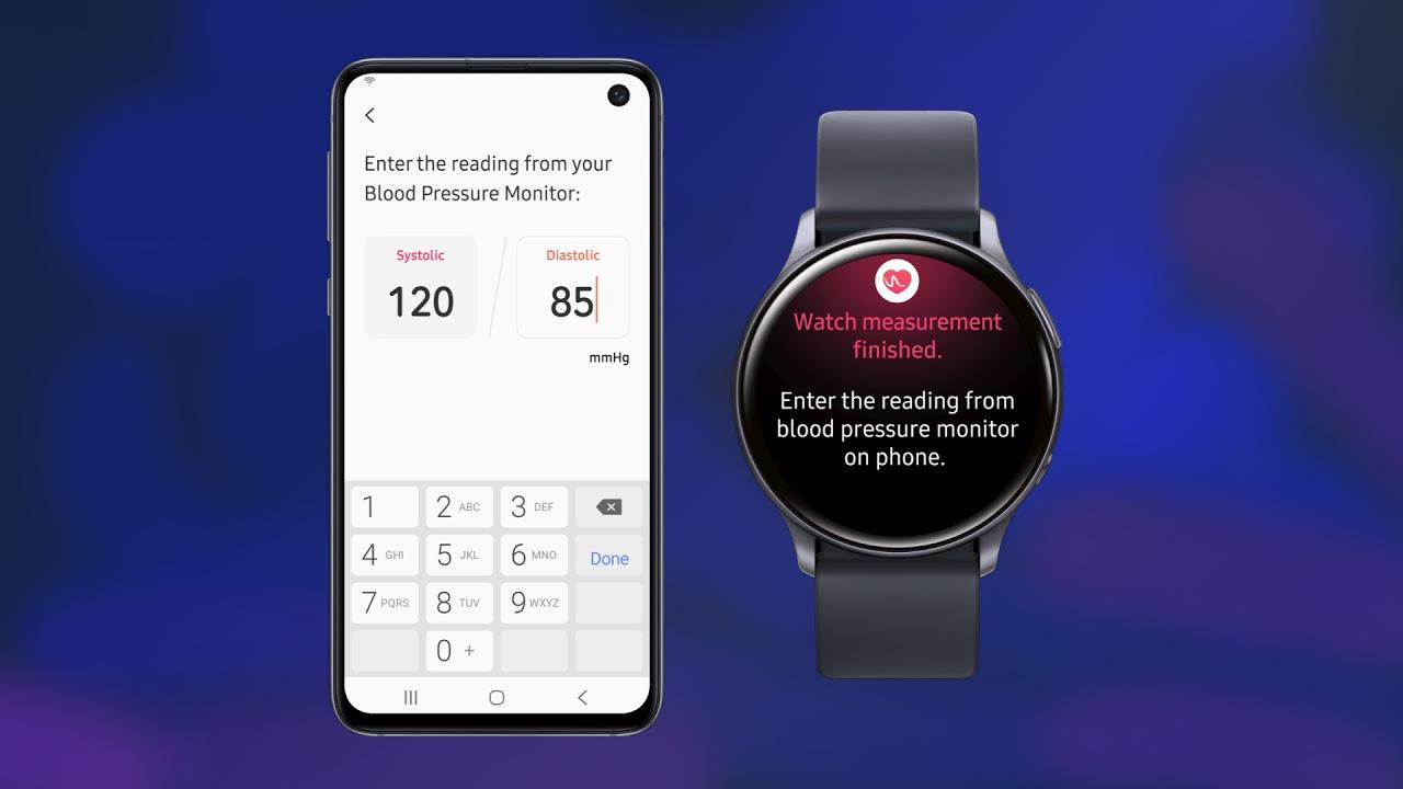 Galaxy Watch Active 2 adesso misura la pressione del sangue thumbnail