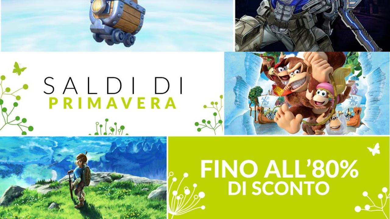 Giochi Nintendo Switch in sconto: arrivano i saldi di Primavera thumbnail