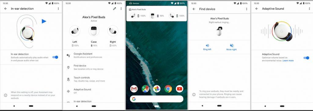 Google Pixel Buds applicazione