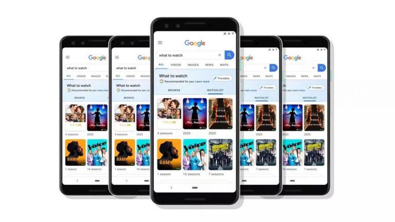Google film serie tv watchilist