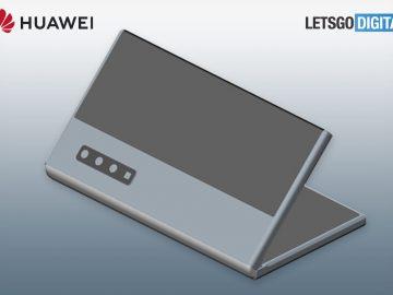 Huawei brevetto foldable copertina