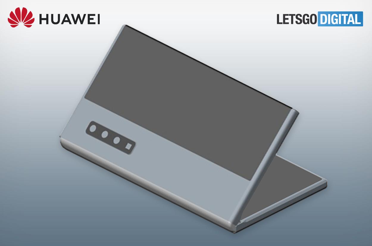 Spunta un nuovo brevetto per un foldable Huawei thumbnail