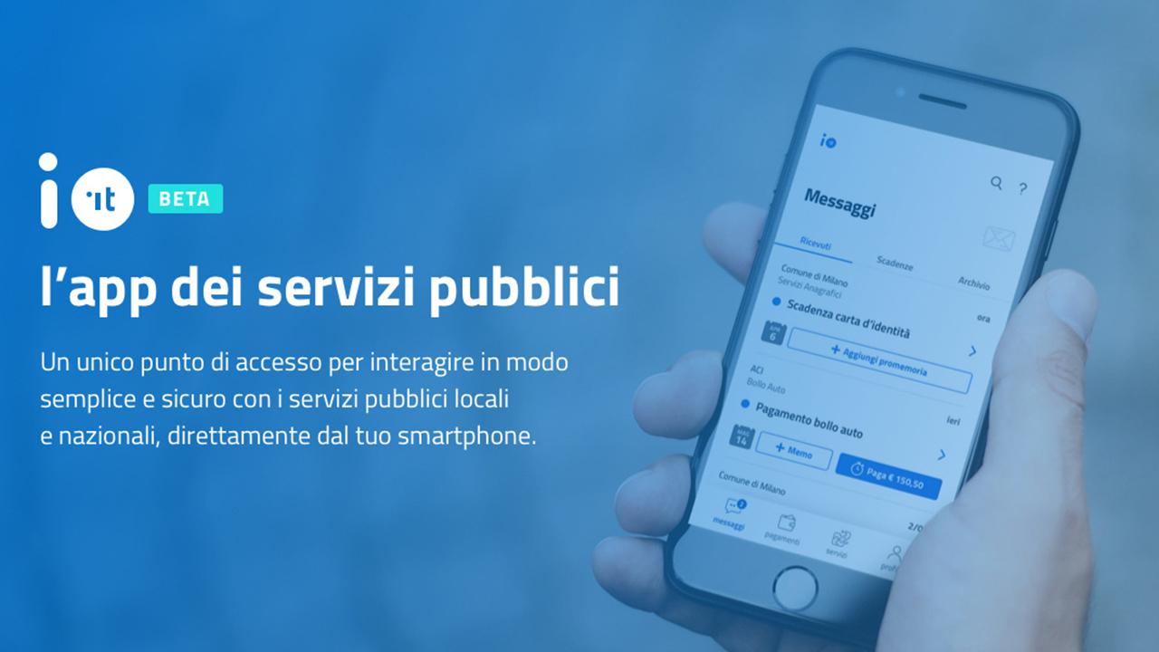 Disponibile IO, la nuova app per i servizi della pubblica amministrazione thumbnail