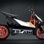 Scooter elettrico KTM