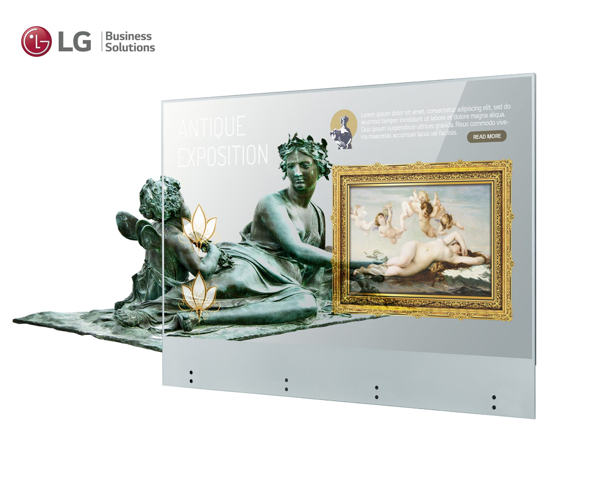 LG OLED trasparente